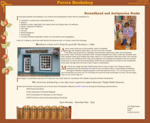 Forres Antiquarian Bookshop